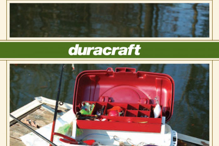 duracraft boat brochure offset priting