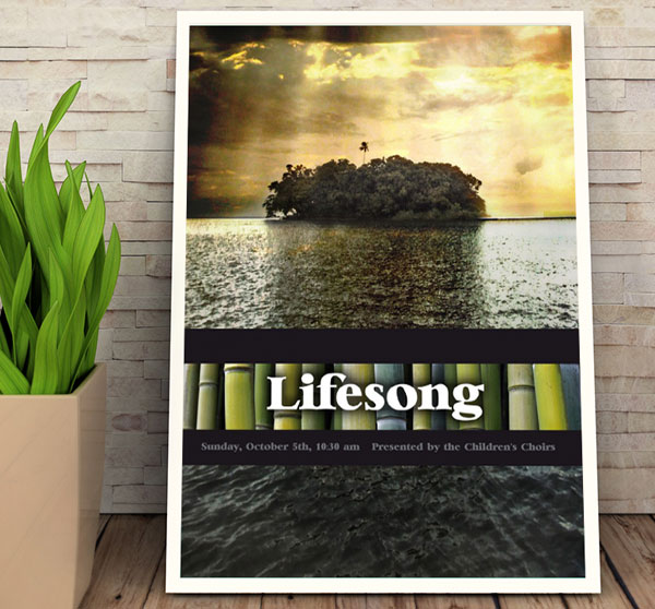 holland avenue baptist church lifesong christmas musical poster