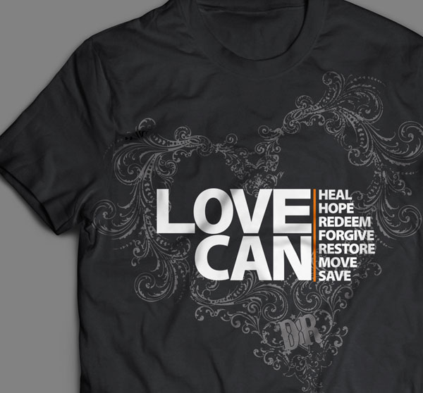 decemberadio love can t shirt design
