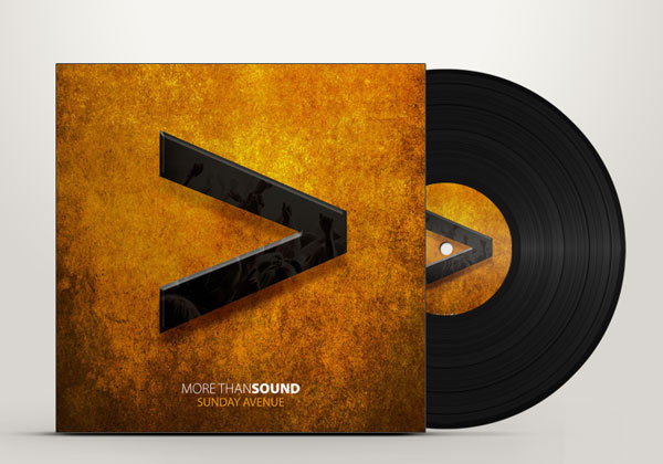 sunday avenue more than sound christian worship album cover design