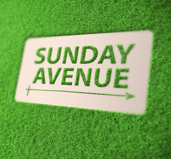 sunday avenue christian indy band lexington south carolina logo design brand identity
