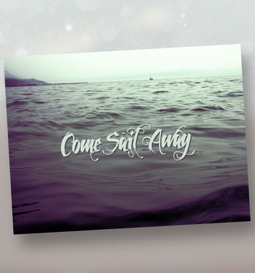 come sail away sermon title slide