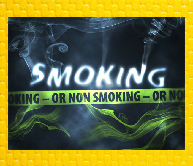 smoking or non smoking sermon graphic slide