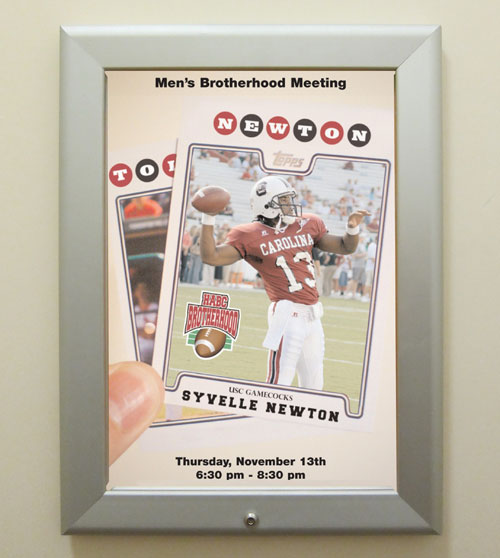 syvelle newton football poster
