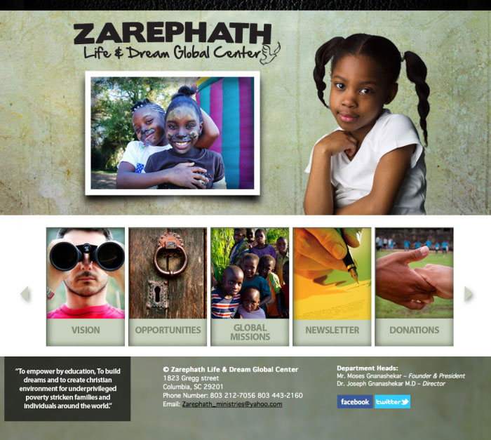 zarephath ministries web site home page